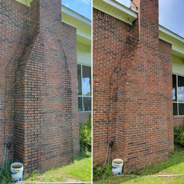 Can You Power Wash a Brick Property?